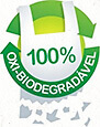 100% oxi-biodegradável